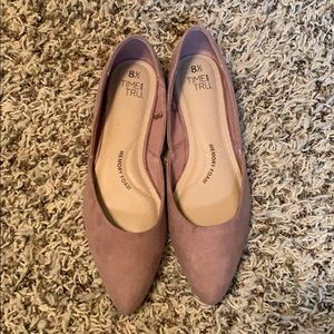 Time and Tru Shoes - Time and Tru Mauve flats